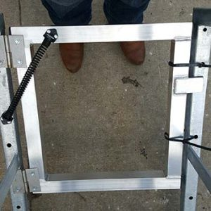 Swing Gate Aluminum - Portable Access Platform