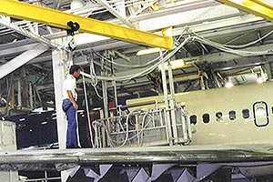 Aircraft Hangar Mounted Systems