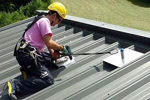 FIXED ROOF ANCHOR SYSTEM