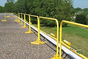 ROOF STEEL GUARDRAIL SYSTEMS