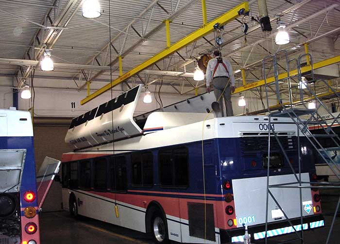 Bus Bay Mounted Systems