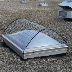 Fixed Roof Dome Skylight Screens