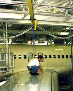 Aircraft Hangar Fall Protection