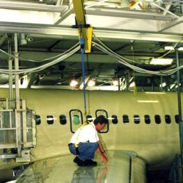 Aircraft Hangar Fall Protection