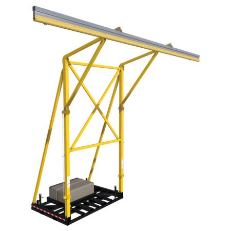 Portable Counterweight Horizontal Lifeline