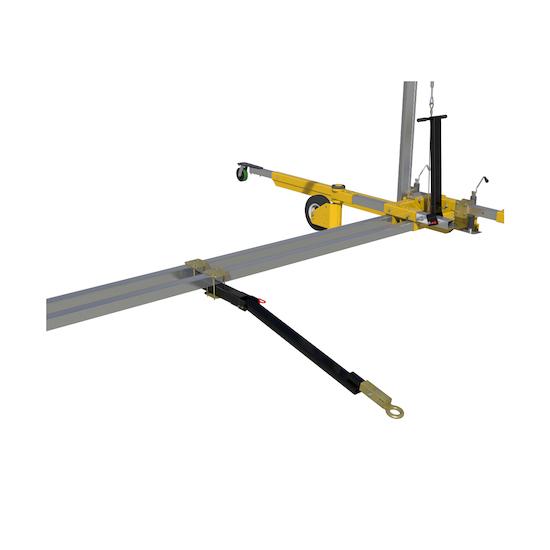 Portable Freestanding Fall Arrest Anchor & Ladder System