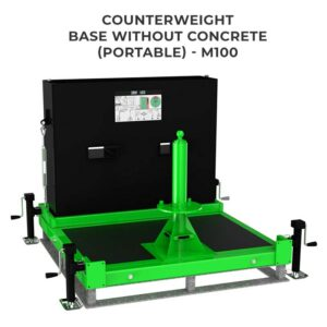 Counterweight Base without Concrete