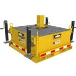 Counterweight Base Jack Leveling Kit