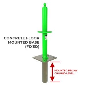 Concrete Floor Mount