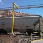 Outdoor Freestanding Railcar System