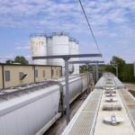Outdoor Freestanding Railcar System