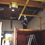 Swing-Arm Fall Protection