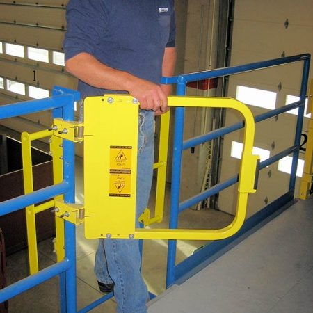 Single Self-Closing Safety Gate