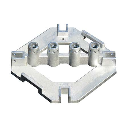 Base Plate w/rubber pads (Galvanized)