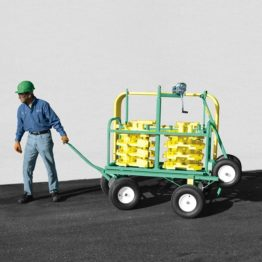 Centurion Service Cart with Flatproof Tires