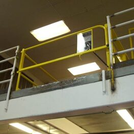 Mini Dual Mezzanine Safety Gate