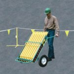Warning Line Transporter - Portable Warning Line