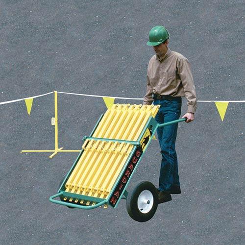 Warning Line Transporter - Portable Warning Line