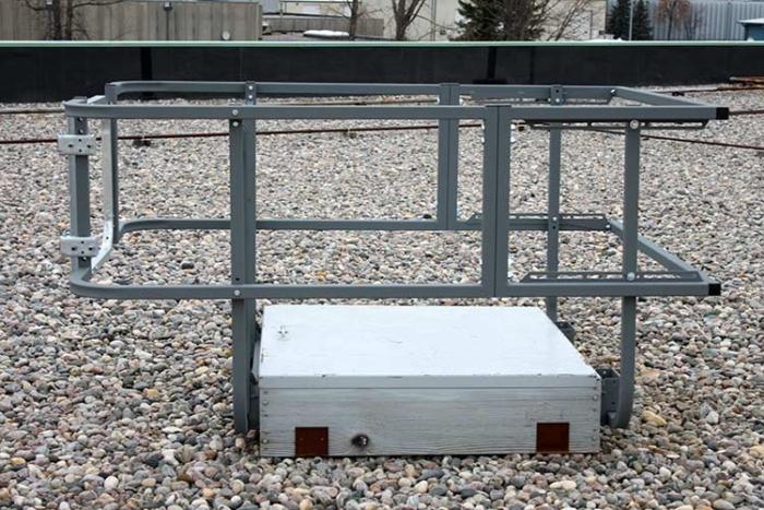 Roof Hatch Fixed Guardrail