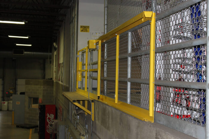 Horizontal Mezzanine Safety Gate