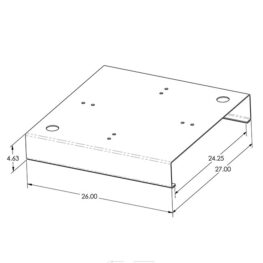 Metal Deck Standoff Plate