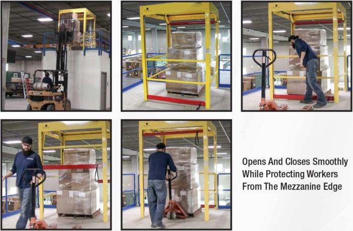 Mega Dual Mezzanine Safety Gate