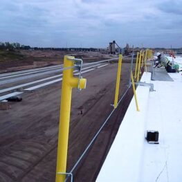 Portable Cable Guardrail
