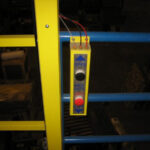 Vertical Opening Mezzanine Safety Gate