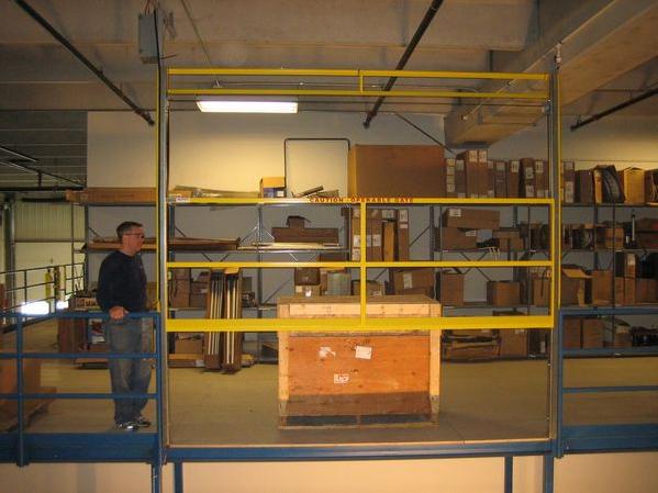 Vertical Opening Mezzanine Safety Gate