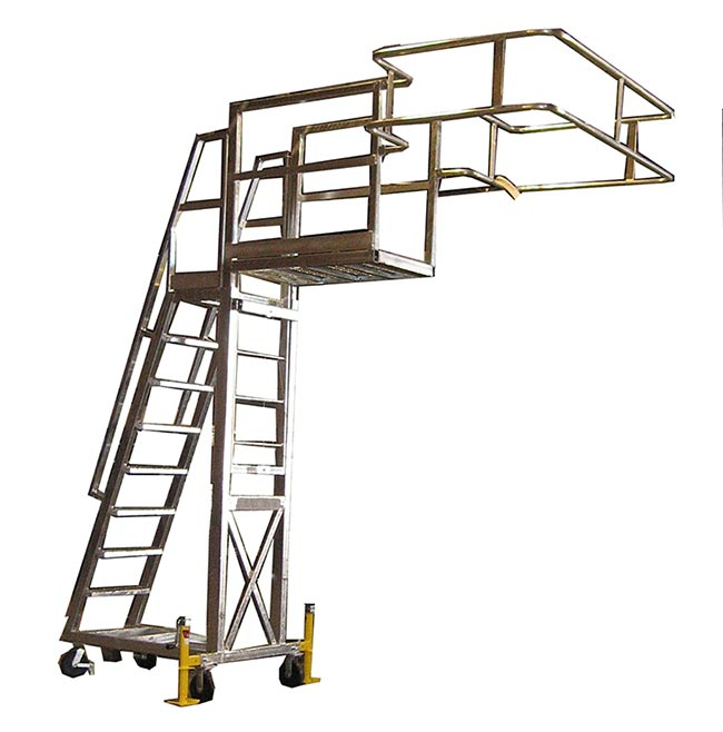 Portable Access Platform For Trucks Amp Railcars Cai