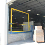 Vertical Mezzanine Safety Gate