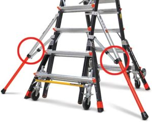 Adjustable Wide-stance Outriggers