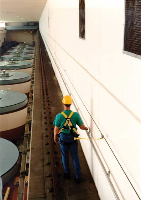 Overhead Crane Rail Fall Protection
