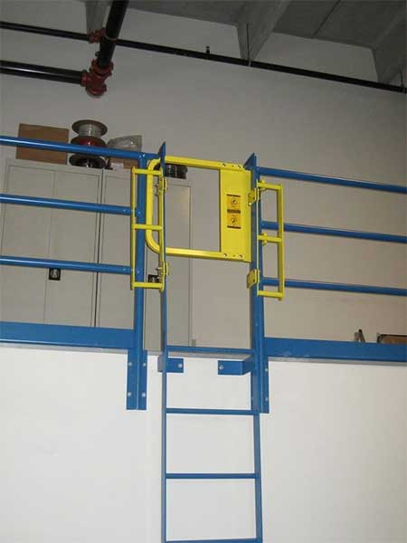 Single Self Closing Safety Gate Swing Gate Ladder Gate