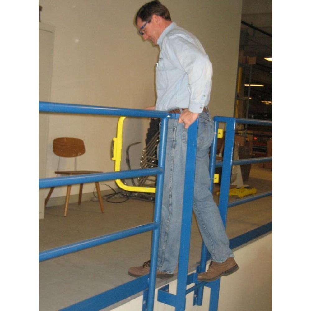 Single Self Closing Safety Gate Swing Gate Ladder Gate
