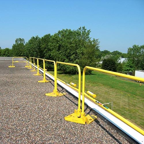 Steel Non-penetrating Guardrails
