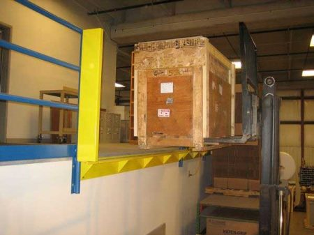 Horizontal Opening Mezzanine Safety Gate