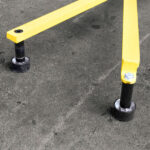 Portable Non-penetrating Warning Lines – Rubber Foot Set