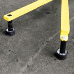 Portable Non-penetrating Warning Lines - Rubber Foot Set