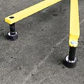 Rubber Foot Set - Portable Warning Line