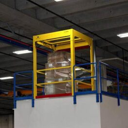Pallet Self-Closing Safety Gate | CAI Safety Systems