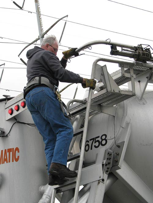 Tanker Truck Mounted Anchor System