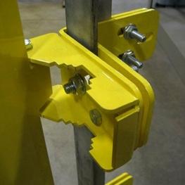 Angle Iron Safety Gate Adapter Bracket