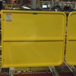 Pallet Rack Safety Gate