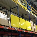 Pallet Rack Safety Gate