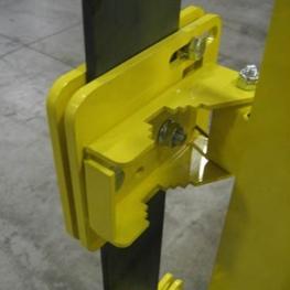 Flat Bar Safety Gate Adapter Bracket