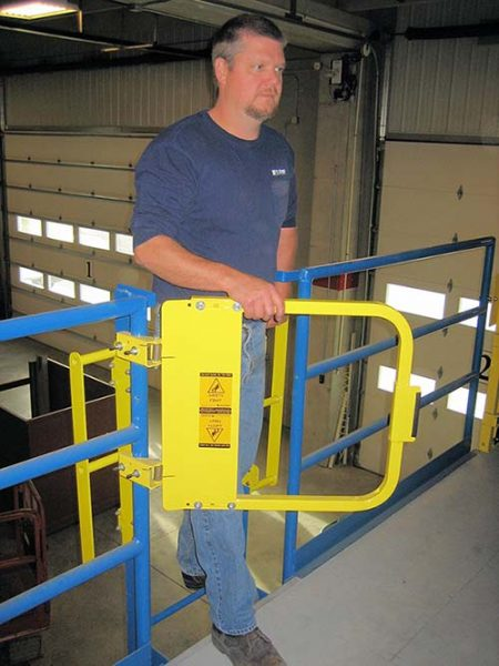 Grab Bars (Grabsafe) for Mezzanines, Platforms & Self-Closing Safety Gates