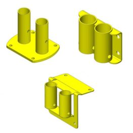 Fixed Mounted Guardrail Accessories