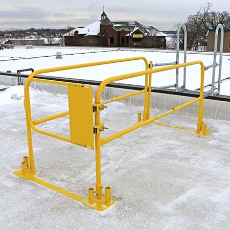 Gate & Guardrail Kit for Roof Ladder | CAI Safety Systems