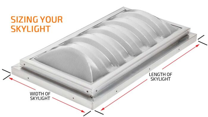 Roof Skylights - Sizing Your Skylight